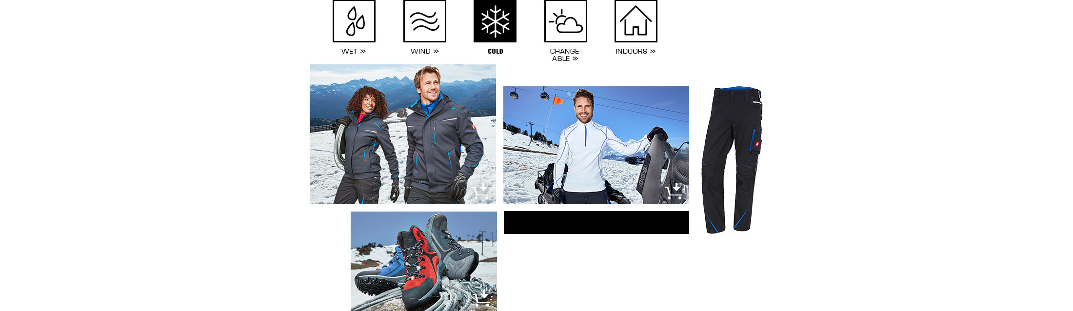 engelbert strauss workwear protects against the cold